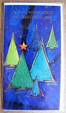 Grußkarte Ein Frohes Weihnachtsfest und ein Gutes Neues Jahr Aufklappbar  C0205