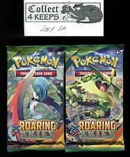 Pokemon XY Roaring Skies Unopened Booster Pack x2 (10 cards per pack)