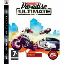 Burnout PARADISE THE ULTIMATE BOX GIOCO PS3 NUOVO di zecca