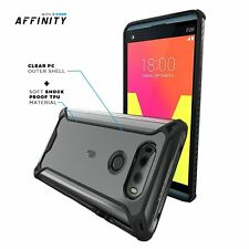 Affinity Series Dual material Protective Shockproof Case Cover for LG V20 Black