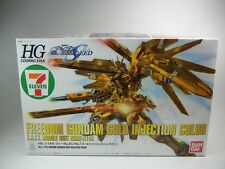 "7-Eleven Limited  HG 1/144 ""Freedom Gundam Gold Injection Color"" 7-11  BANDAI"