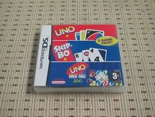3 Game Pack Uno & Skip-Bo & Uno Free Fall für Nintendo DS, DS Lite, DSi XL, 3DS
