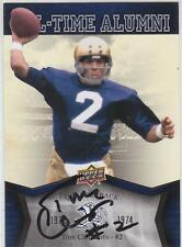 TOM CLEMENTS Autographed Signed 2013 card Notre Dame Irish Football COA