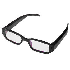 HD 1080P SPY Hidden Camera Glasses DV DVR Eyewear Video Recorder Camcorder Black