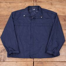 "Men's Vintage Ralph Lauren Polo Golf Blue Waterproof Jacket 90's XXL 52"" R3577"