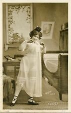 CARTE POSTALE PHOTO POSTCARD / FANTAISIE NU TYPE FEMME WALERY PARIS NUDITA
