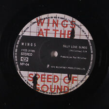 PAUL MCCARTNEY & WINGS: Silly Love Songs / Cook Of The House 45 (Brazil, w/ com