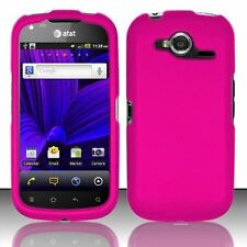 Hard Rubberized Case for Pantech Burst P9070 - Pink