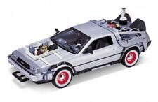 Welly Back To The Future 3 Delorean Time Machine 1/24 Scale Die-Cast Model Car
