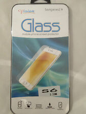 TEMPERED GLASS SCREEN PROTECTOR ANTI SCRATCH FILM For Samsung Galaxy S6 SM-G920F