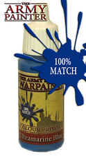 The Army Painter WP1115 Acrylic Warpaint Ultramarine Blue 18ml Plastic Bottle1st