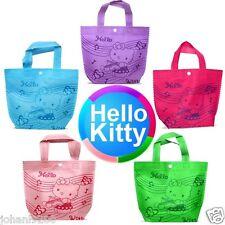 Draagtas / draagtasje, 5 stuks,  Hello Kitty, met drukknop