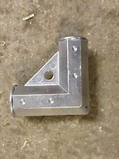 """Gate Corner Elbow Green or Silver Aluminum 1 3/8"""" ChainLink Fence Gate Hardware"""