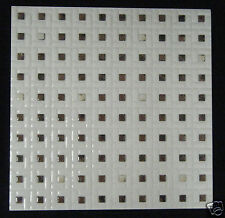 Brown White Marble Tile Square Crystal Ceramic Decorative Tiles 30x30 GHXT3041