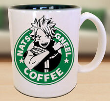 Fairy Tale Natsu Starbucks Anime Manga Japanese Insipred Cartoon Geek Nerd Mug
