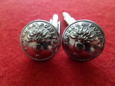 Boutons de manchette Cufflink Collection 15mm Sapeurs Pompier Fireman Uniforme 3