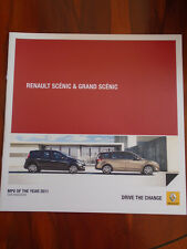 Renault Scenic & Grand Scenic brochure Jan 2012 South African market