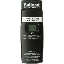 RUTLAND DIGITAL ELECTRIC FENCE TESTER 10,000v Measures Fencing Voltage Voltmeter