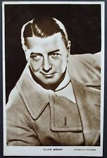 Old  Real Photo Film Star Postcard - Clive Brook