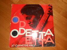 ODETTA AT CARNEGIE HALL! 1960 1st GERMAN PRESS!