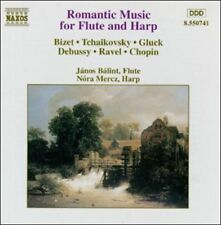 Romantic Music for Flute and Harp CD NEW