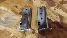 2 factory NEW 6rd mags for Davis P-32 --- magazines clips   (C113*)