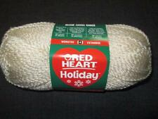 Red Heart Holiday Worsted Metallic Blend Yarn 1 Skein Aran/Gold 1360