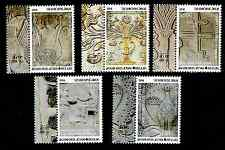 GREECE 2016 MOUNT ATHOS 2nd (B ISSUE) * STONE RELIEFS - CARVINGS * MNH