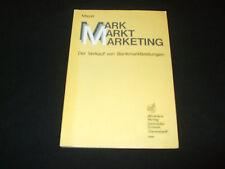 Mayer - MARK MARKT MARKETING - Der Verkauf von Bankmarktleistungen