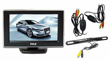 NEW Pyle PLCM4350WIR 4.3'' Monitor Wireless Back-Up Camera System