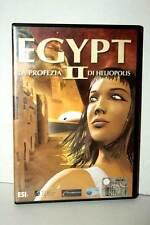 EGYPT II LA PROFEZIA DI HELIOPOLIS GIOCO USATO  PC CDROM RS2 37821