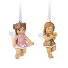 Nina & Marco Set of 2 Fairy Hanging Tree Decorations NEW 17123