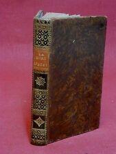 LA MORT D'ABEL - POËME EN CINQ CHANTS - GESSNER  [M. HUBER] - 1805