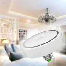 US 12W E27 LED PIR Motion Sensor Detection Light Bulb Lamp Infrared Cool White