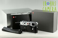 Leica M7 0.72 35mm Rangefinder Film Camera In Silver With Box #10962