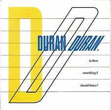"""Duran Duran 1983 - 7"""" Vinyl 45 RPM - Is There Something I Should Know"""