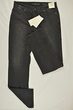 NEW MENS CALVIN KLEIN SLIM STRAIGHT WASHED SHADOW JEANS BLACK 32X32 $98#67-01650