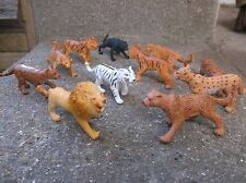 Safari Ltd toy BIG CATS Toob learning resource set of 9 pieces - Lion Tiger etc
