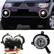 For Mitsubishi Triton / L200 2006-2008 A Set White Front Fog Lamp