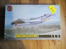 AIRFIX A10102 1:48 SCALE ENGLISH ELECTRIC CANBERRA BI8 COMPLETE PLASTIC MODEL