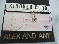Authentic Alex and Ani MUSIC  Kindred Cord Pull  Bracelet New W/  Box