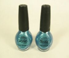 2 Nicole By O.P.I Nail Color Polish 0.5 Fl Oz #NI 298 DIVA INTO THE POOL ~ Blue