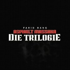 FARID BANG - ASPHALT MASSAKA-DIE TRILOGIE 5 CD NEU