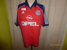 """FC Bayern München Adidas Deutscher Meister Trikot 2000/01 """"OPEL"""" Gr.XL"""