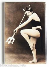 Sexy Devil Woman FRIDGE MAGNET (2 x 3 inches) halloween