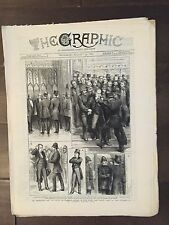 """""""THE GRAPHIC"""" (A Beautifully Illustrated British Weekly Newspaper)--Aug. 13,1881"""