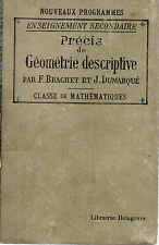 PRECIS DE GEOMETRIE DESCRIPTIVE Enseignement secondaire, classes mathématqiues
