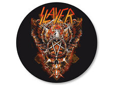 Pin Button Badge Ø38mm Slayer Trash Metal US Jeff Hanneman Kerry King