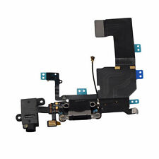 Black Headphone Audio Dock Connector Charging Data USB Port Flex Cable iPhone 5C