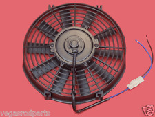 "10 "" inch HIGH PERFORMANCE ELECTRIC RADIATOR COOLING FAN   FLAT BLADE"